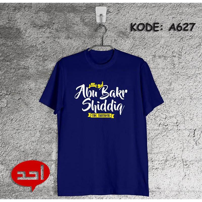 Kaos Abu Bakar Kaos Dakwah Sahabat Nabi Shopee Indonesia