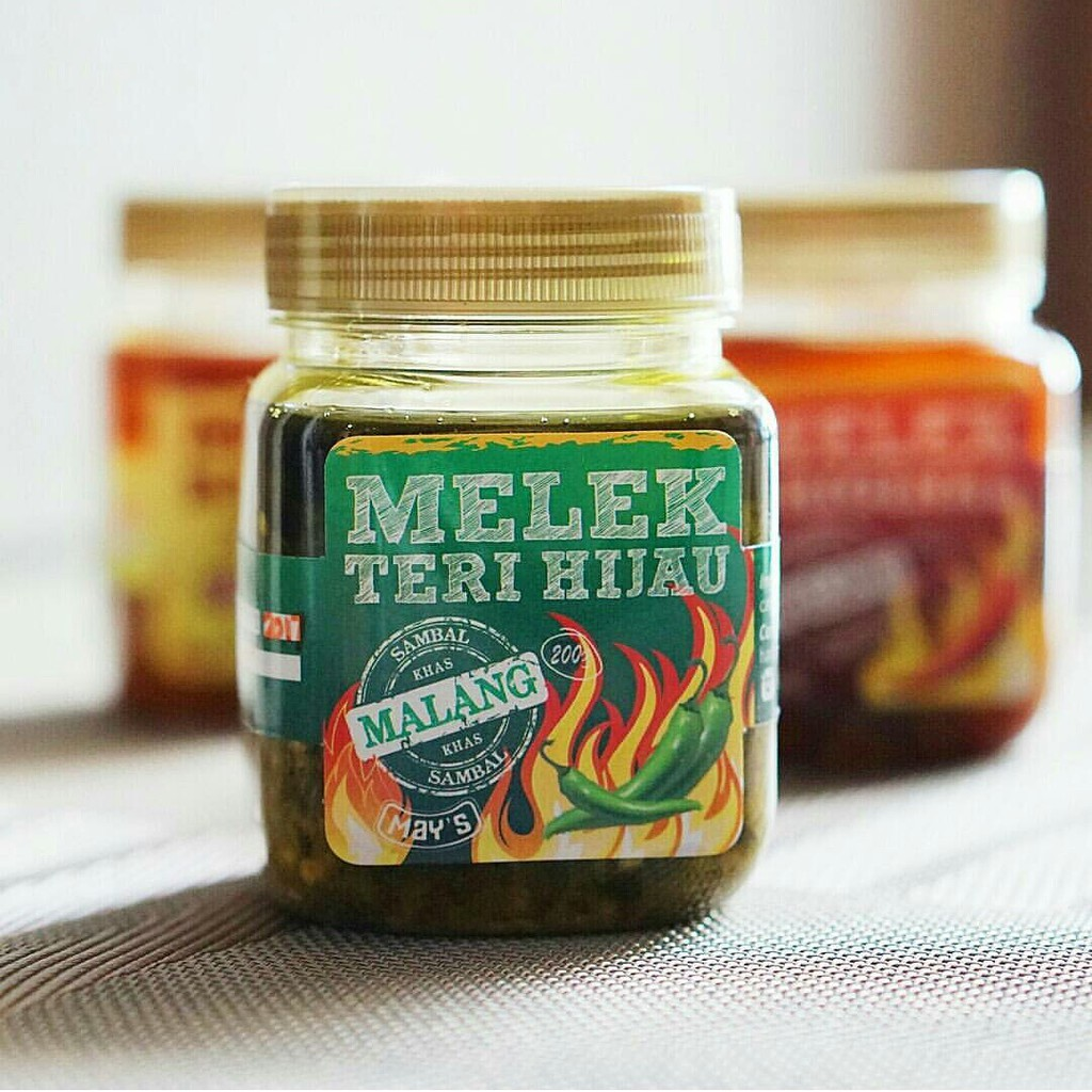 Sambal Teri Kacang Shopee Indonesia Narara By Rumah Giling