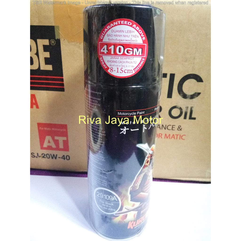 Samurai Paint Cat Semprot Hitam Black 109 Shopee Indonesia H2 Hi Temp Aerosol Tahan Panas