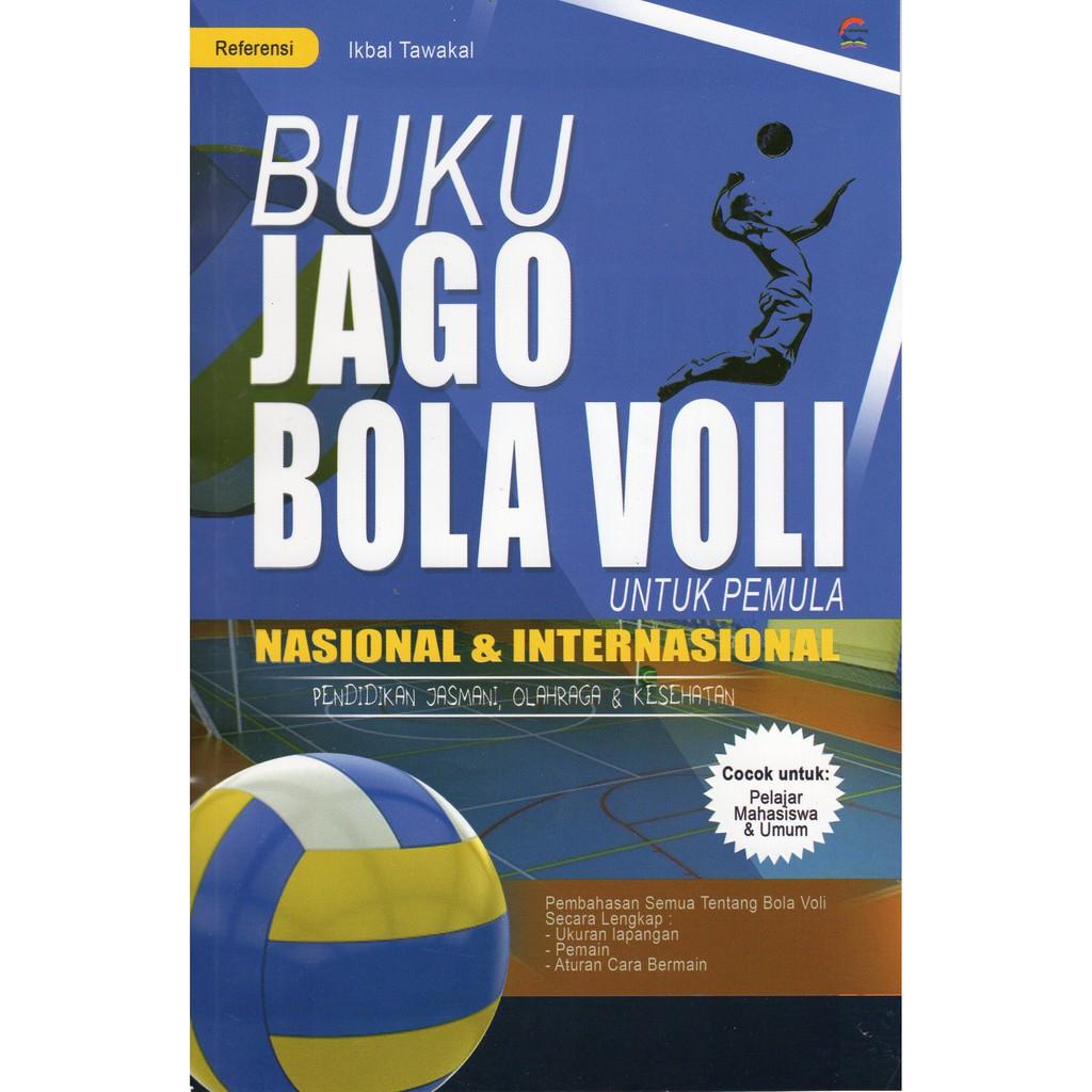 Buku Jago Bola Voli Untuk Pemula Nasional Dan Internasional Shopee Indonesia
