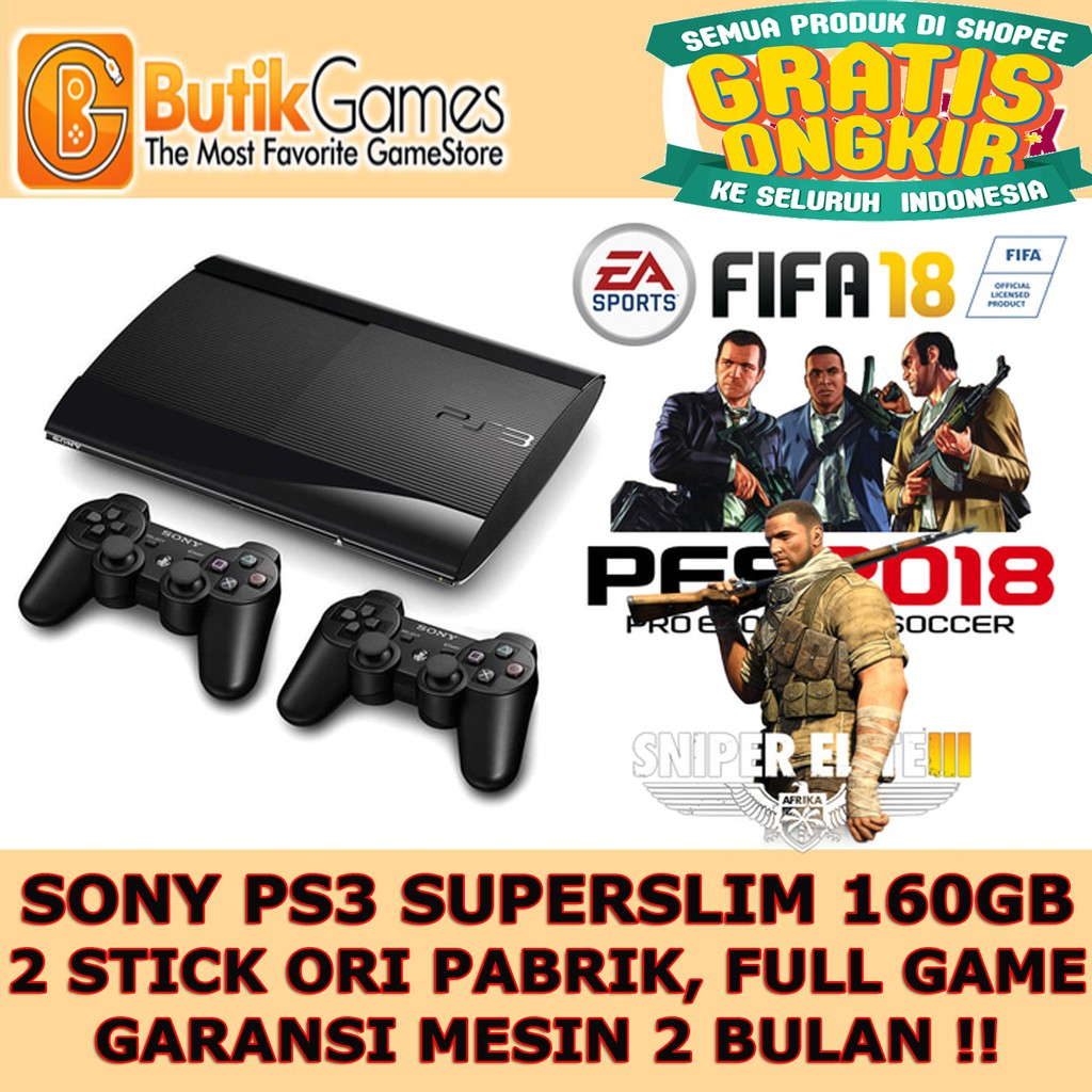 Sony Ps4 Slim Playstation 4 500gb Cuh 2006a 2 Game Shopee Garansi Free Extra Controller Indonesia