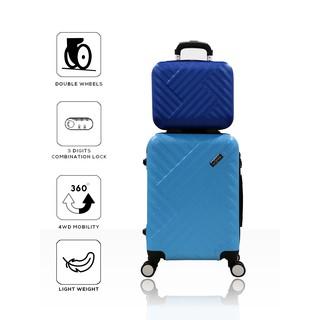 Koper Hardcase ABS Polo Milano 20 Inch CABIN SIZE Random Model + TAS KOPER MINI 12