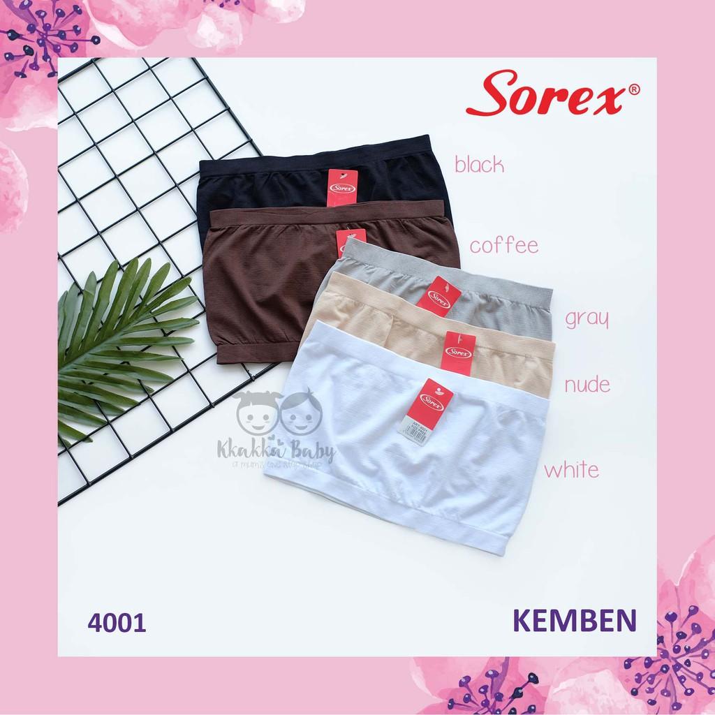 Sorex Kemben Rajut Cup Tanpa Busa 4001 Shopee Indonesia Celana Korset Shapewear Corset Ba016 Cream S