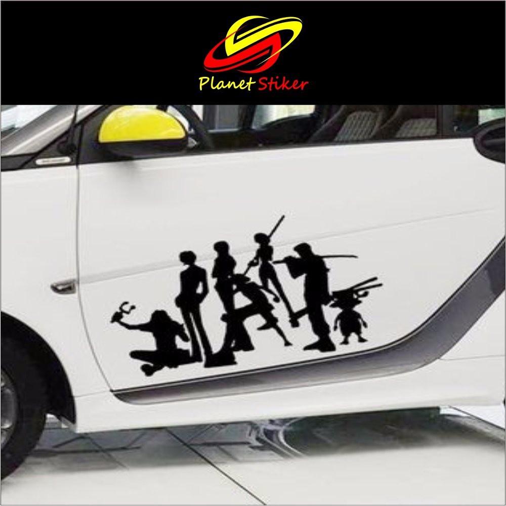 Cutting sticker stiker mobil one piece stiker kap mobil dan stiker bodi mobil shopee indonesia