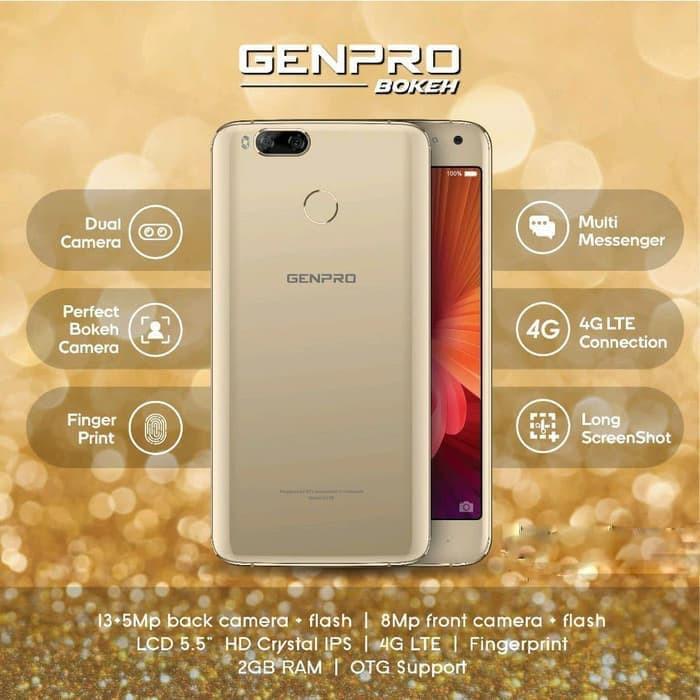 Hasil gambar untuk Genpro Bokeh S55B 4G LTE - Ram 2GB/16GB - Garansi Resmi