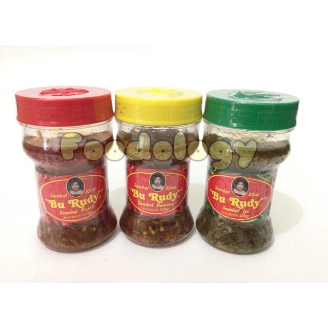 Sambal Terasi Bajak Bu Rudy Sambel Original Khas Surabaya Rudi Bekasi | Shopee Indonesia