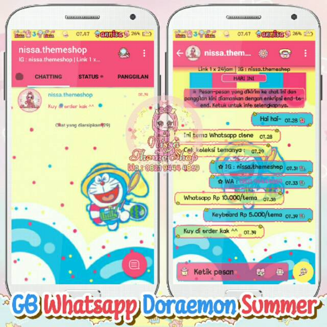 Gb Whatsapp Doraemon