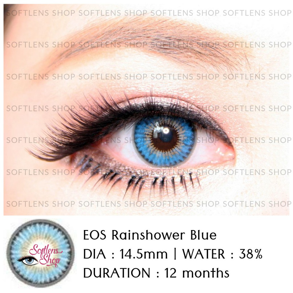 Softlens Eos Marrie Brown Shopee Indonesia Diva Queen One Layer With Clear Vision