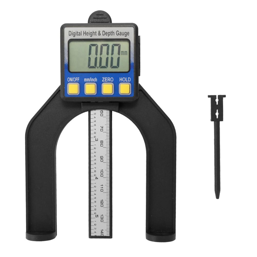 150mm 6/'/' Digital Caliper Vernier Slide Gauge LCD Measurement Micrometer Ruler