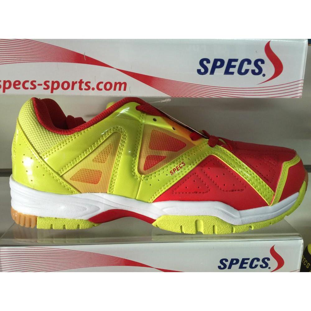 Sepatu Badminton Specs Baldr 2016 Red Lime Original Bulutangkis Hart Hs 303 Shoes Terbaik Shopee Indonesia