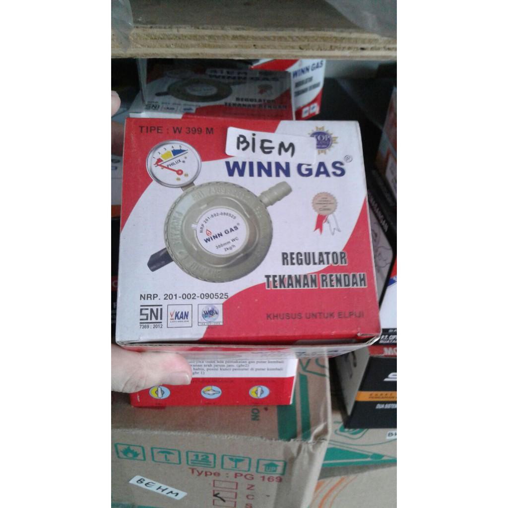 Selang Gas Merk Winn Shopee Indonesia Paket Premium Top Brand Selongsong Besi Winngas Sni Garansi Resmi