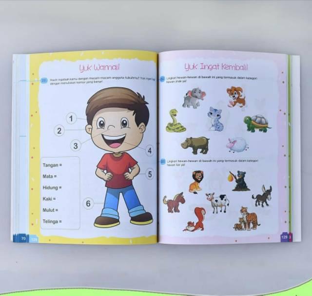 Buku Anak Tk Paud 365 Aktivitas Anak Pintar Paud Tk Shopee Indonesia