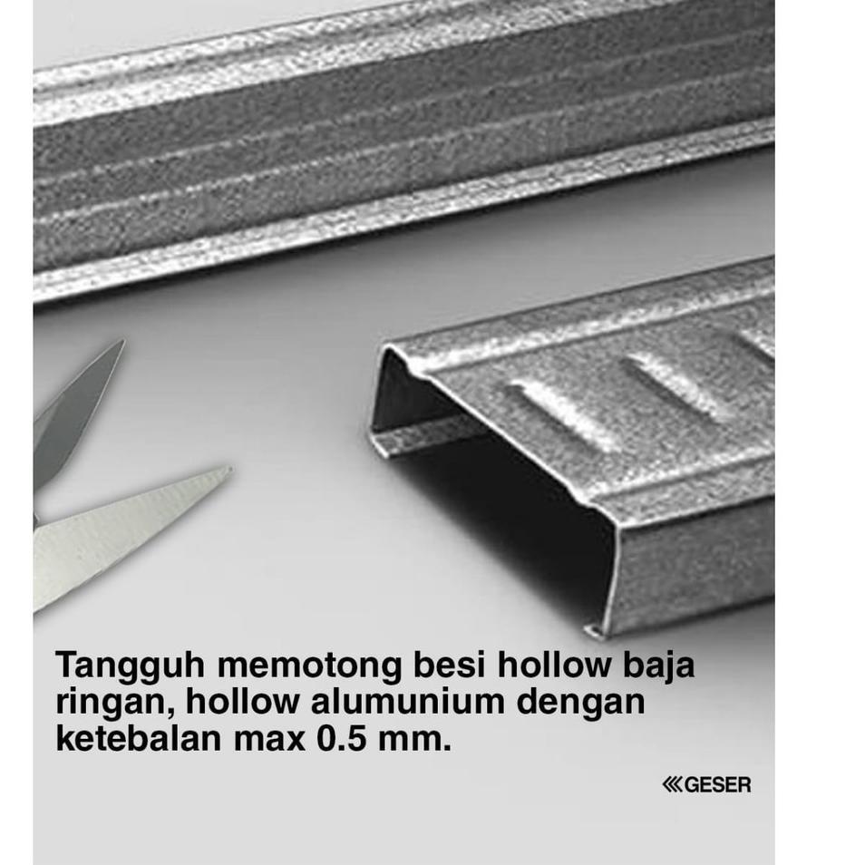 Jk Gunting Seng Holo Baja Ringan 7 Inch Japan Hss Steel