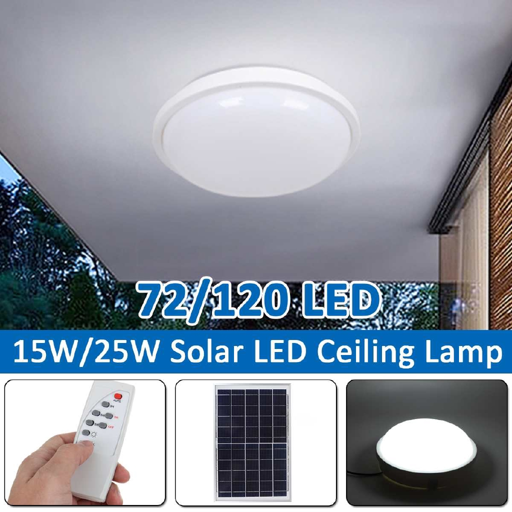 15w 25w Indoor Luar Garage Led Ceiling Lights Surya Led Ceiling Lamp Remote Control Soft Light Eff Shopee Indonesia