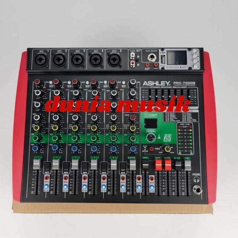 power Mixer ashley prx7000s prx 7000s prx-7000s original
