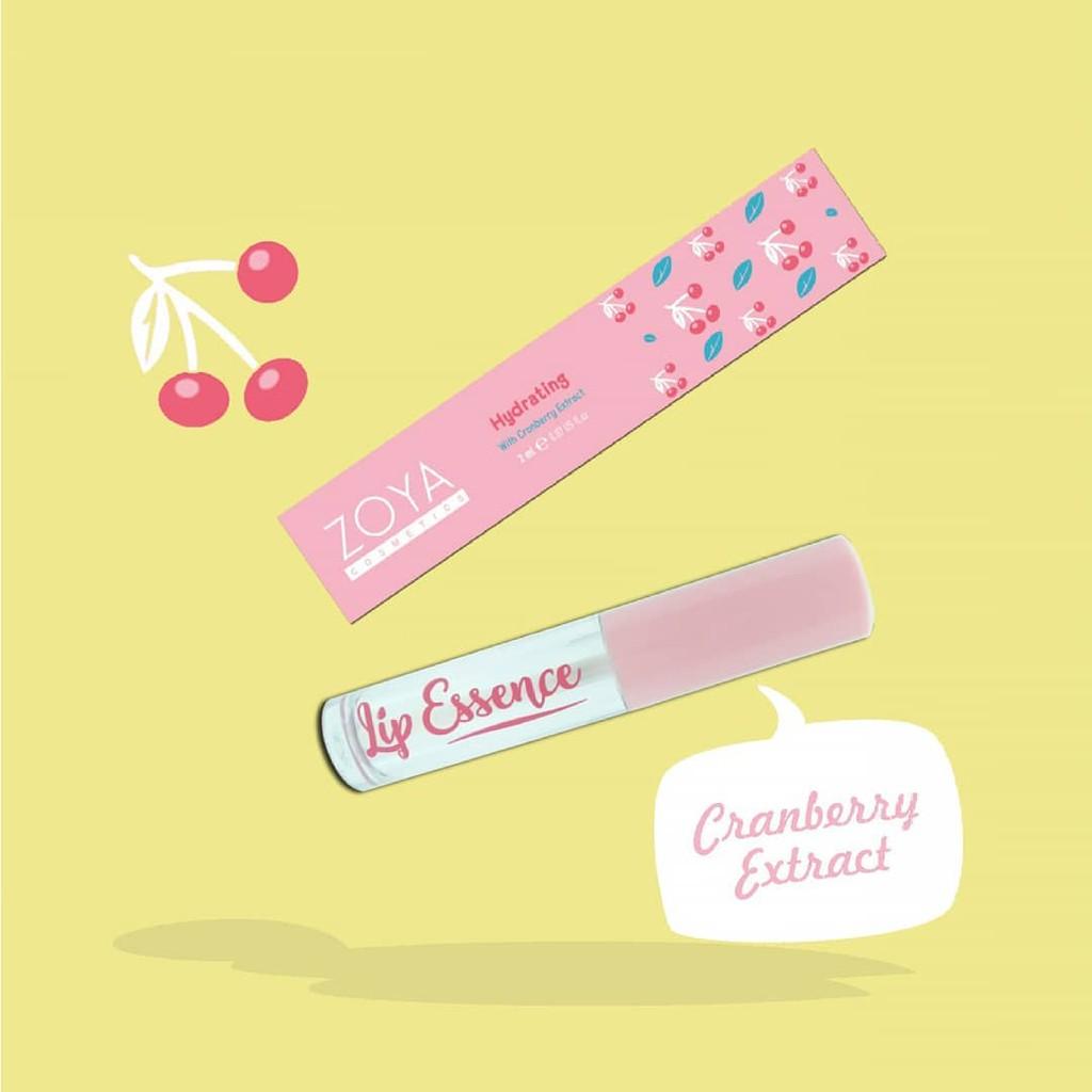 Ultramoisse Lipstick Zoya Cosmetics Shopee Indonesia Lip Strawbeery Ice 04