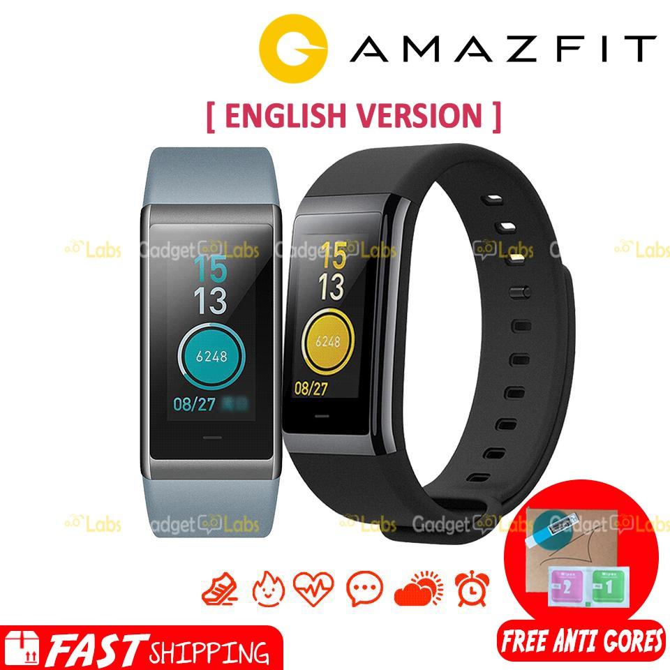 Xiaomi Huami Amazfit Bip International Version Original Smartwatch Cor Hitam Shopee Indonesia