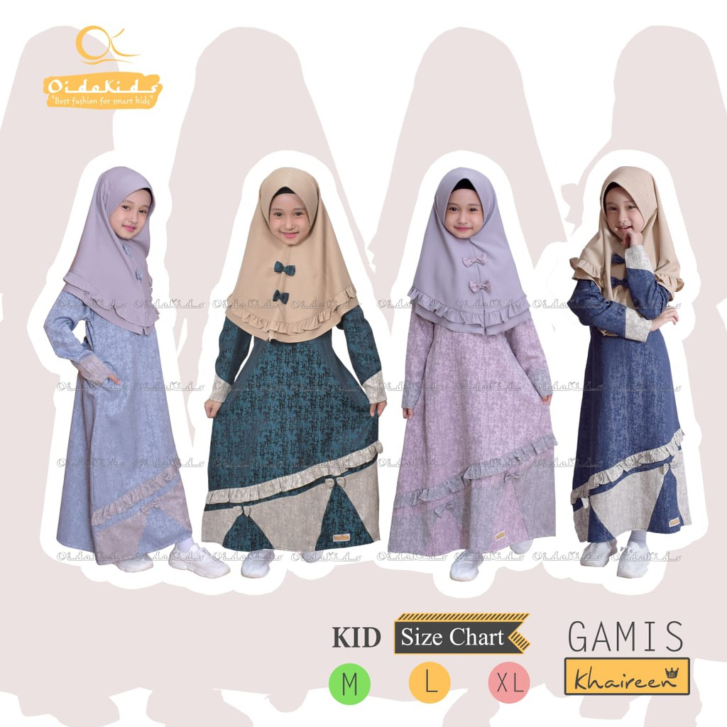 Gamis Anak Khaireen by Oidokids