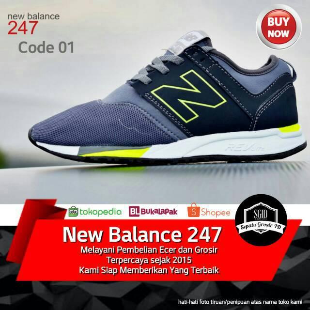 New Balance 247 running shoes NB black men and women mesh mesh 3M  reflective hol  6793f60ee5