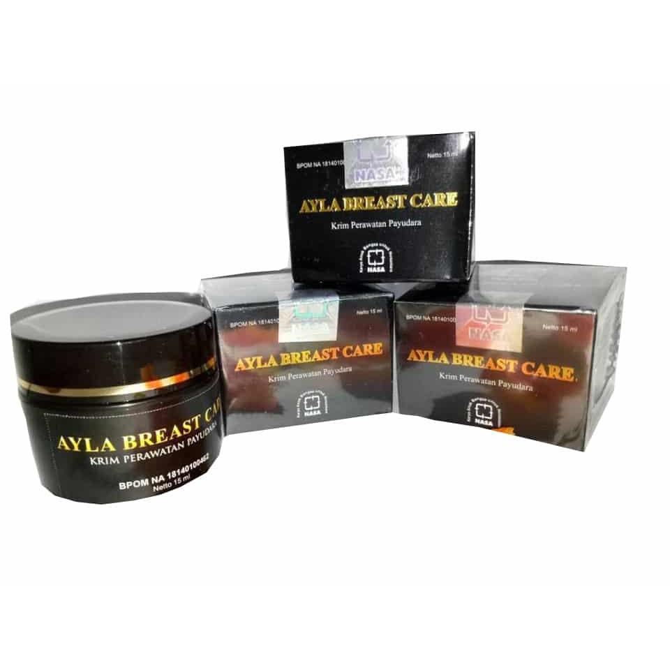 Ayla Breast Care Cream Pengencang Dan Pembesar Payudara Original Asli PT.Natural Nusantara | Shopee Indonesia