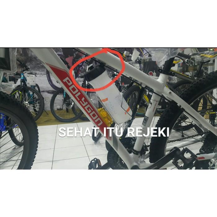 BOTTLE CAGE AVARIUM / TEMPAT BOTOL AIR MINUM DI SEPEDA BY POLYGON | Shopee Indonesia