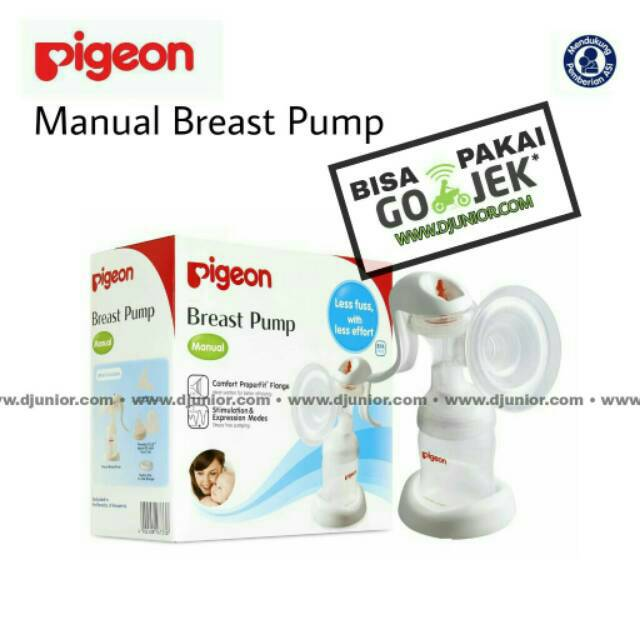 Pigeon - Manual Breastpump  Pompa Asi  Breast Pump  Shopee Indonesia-1848