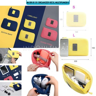 Ultimate Dompet Tas Charger Kabel Power Bank Multifungsi / Cable Poch Travel Multifungsi Big OR 81