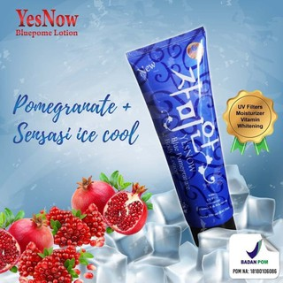 YESNOW BLUE POME Lotion with Cold Sensation BPOM - YESNOW BLUEPOME