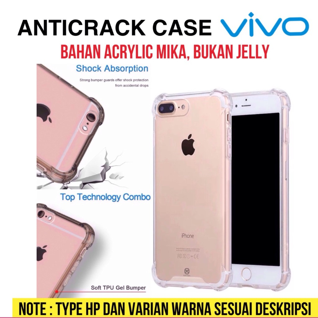 Hard Case Anti Crack OPPO F1S A59 Fiber Fuze Akrilik Acrylic Anticrack Hardcase Transparan Clear | Shopee Indonesia