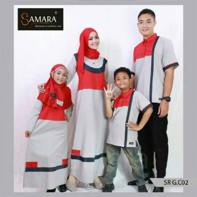 C02 | Sarimbit muslim couple keluarga seragam terbaru koko gamis ayah ibu baju anak murah branded | Shopee Indonesia