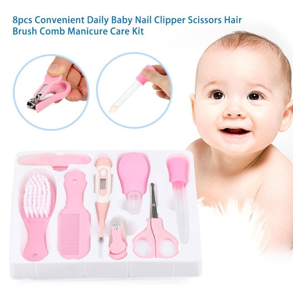 Lion Baby Grooming Gift Set Gunting Kuku Sisir Hair Brush Comb Bayi Little Manicure 6in1 Newborn Nail Care Kit Shopee Indonesia