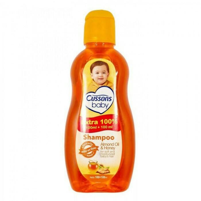 Cussons Baby Shampoo 50ml + 50ml / 100ml + 100ml-100ml + 100ml Orange