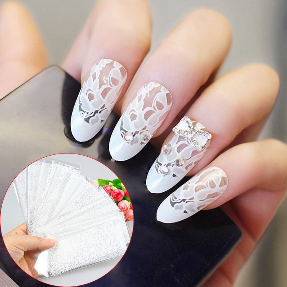 Stiker Nail Art Foil Transfer Motif Bintang Langit Berbintang Jbs Nails Kuku Palsu Wedding Fake 3d A18 Shopee Indonesia