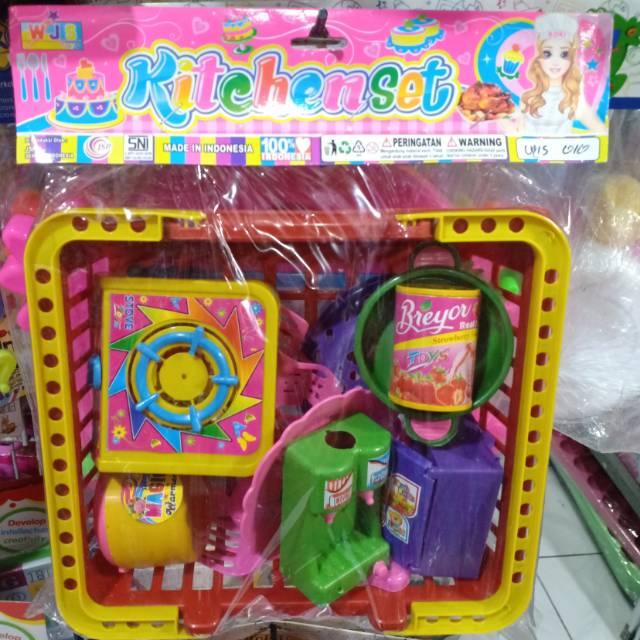 Mainan Anak Perempuan Masak Masakan Kitchen Set Keranjang Untuk Anak Perempuan Mainan Anak Murah Shopee Indonesia