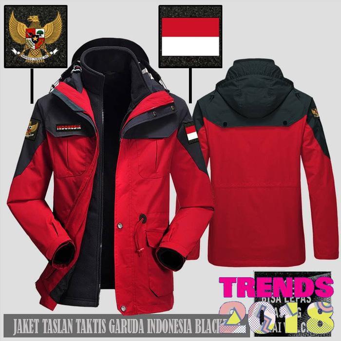 Jaket Taslan Taktis Waterproof Timnas Garuda Indonesia  87dc0c8ff3