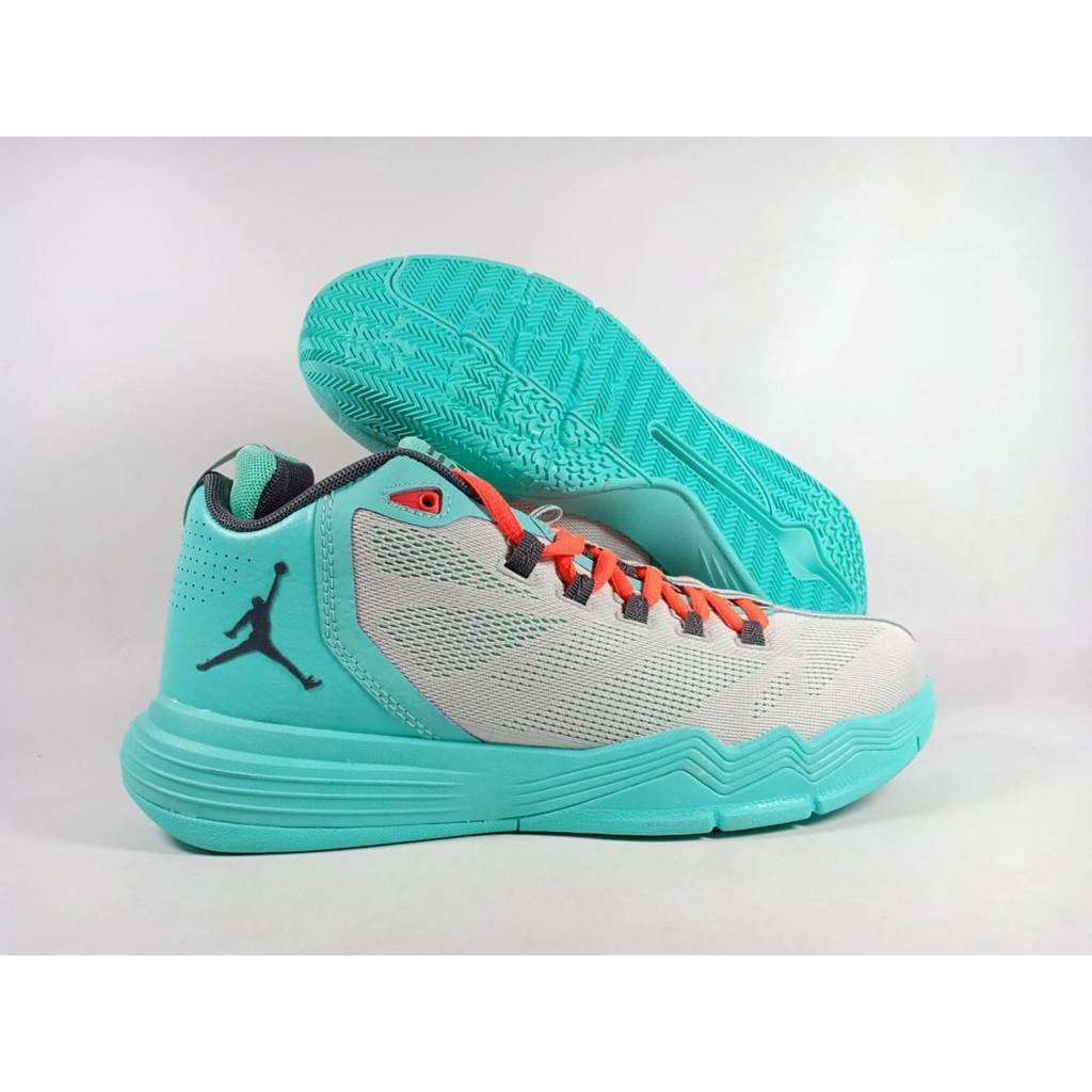82f40ad49eb6 MP-1284 Sepatu Basket Jordan CP3 IX Turquoise Blue Replika Impor ...