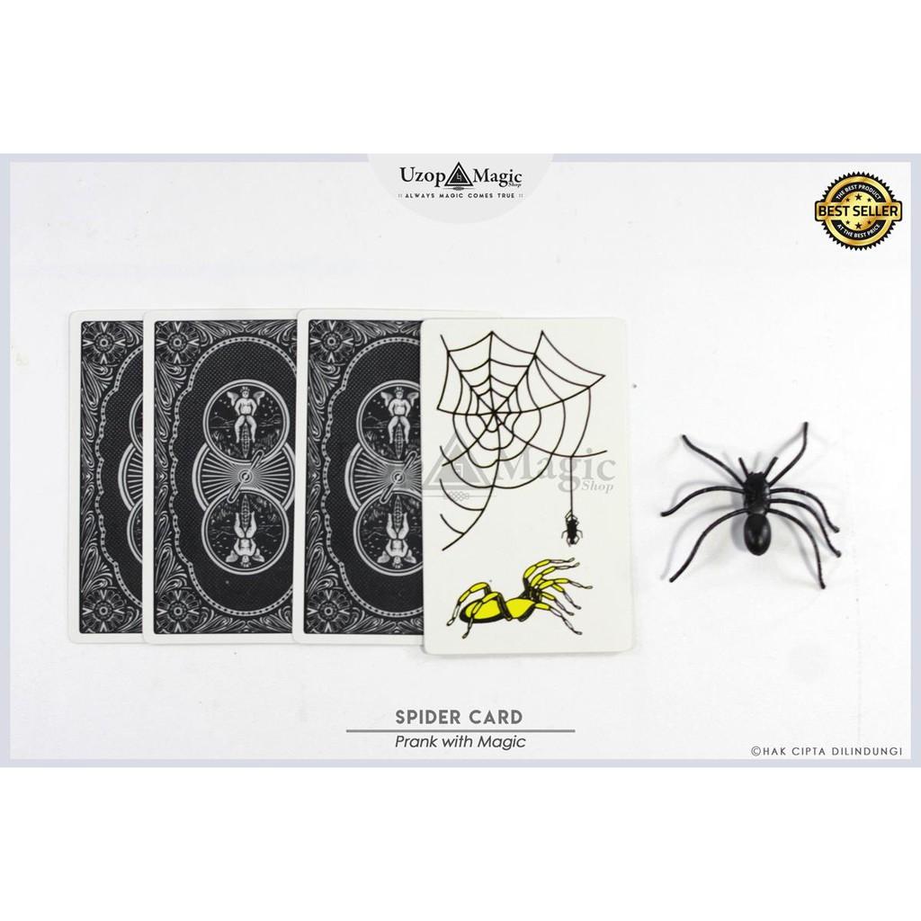 Harga Penawaran Alat Sulap Spider Card - Uzop Magic Shop