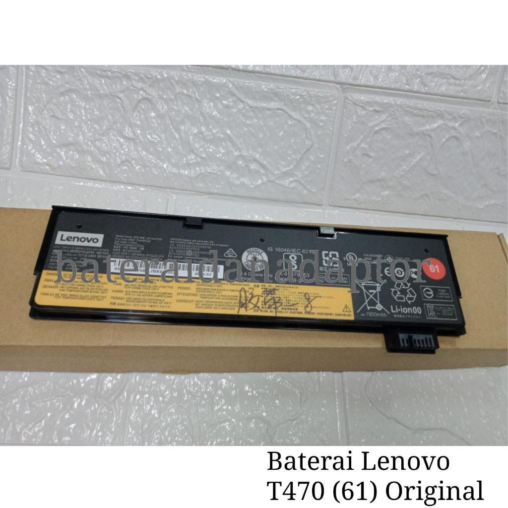 Baterai Lenovo Thinkpad T470 Original | Shopee Indonesia