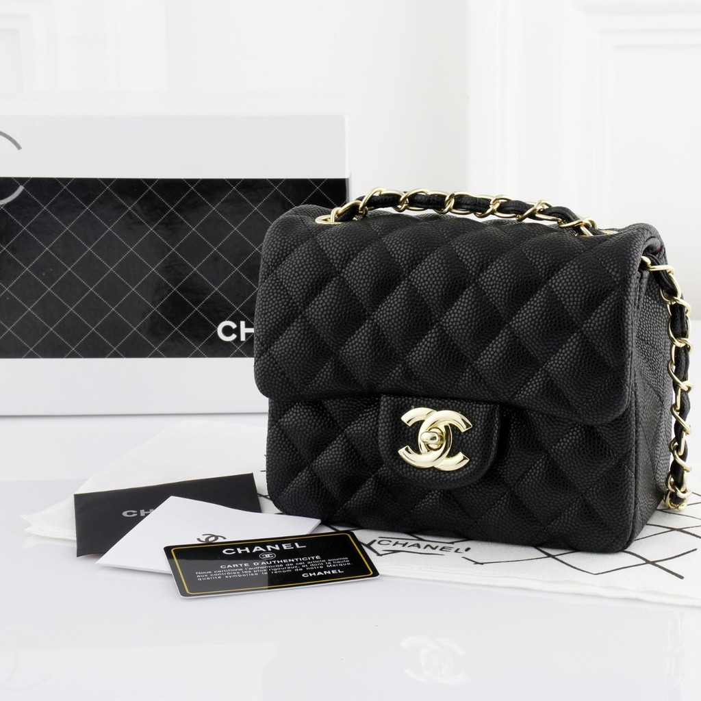 TAS SELEMAPNG WANITA - TAS CHANEL FLAP MINI 9610 - HANDBAG FASHION WANITA  INCLUDE BOX - TMD  9889d163df