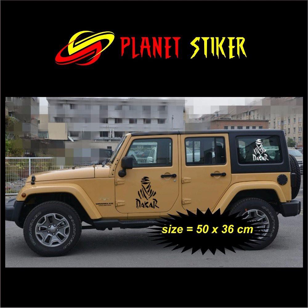 Fu 018 sticker decal american flag bendera jeep wrangler jimny katana hardtop shopee indonesia