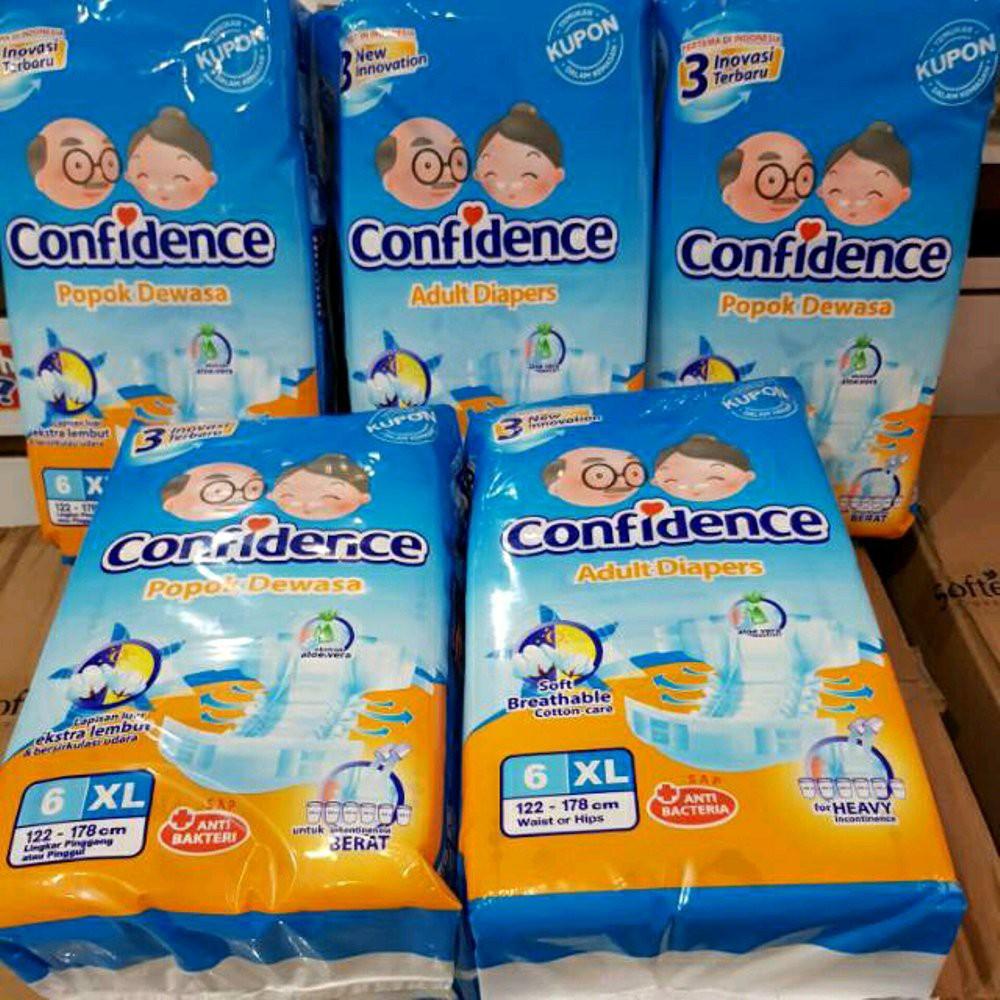 Confidence Popok Dewasa L15 M15 Xl15 Type Perekat Shopee Indonesia Compidence