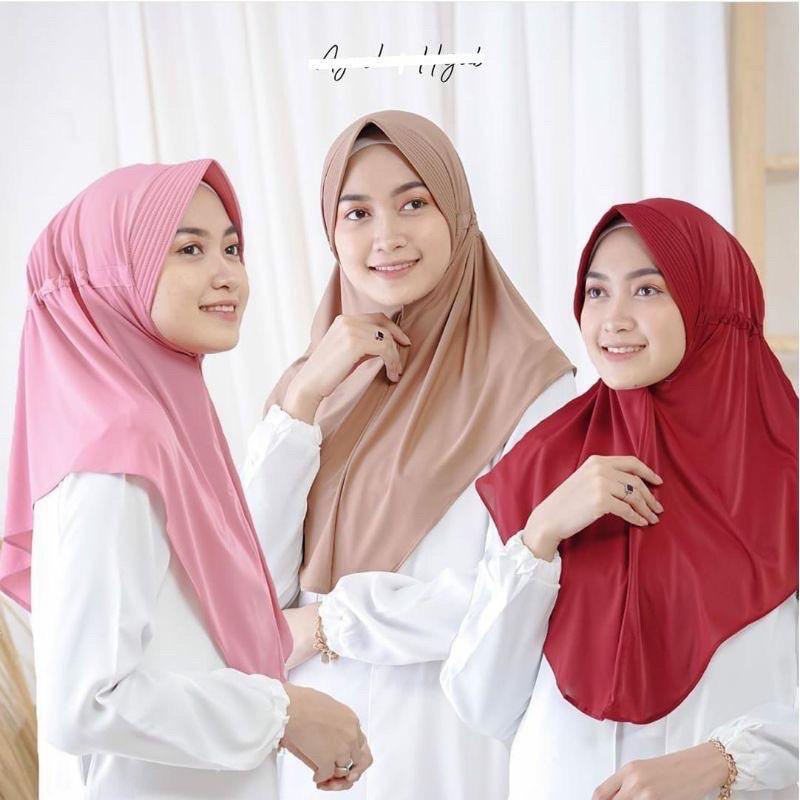 StarJokowi serut Jersey licra/hijab instan