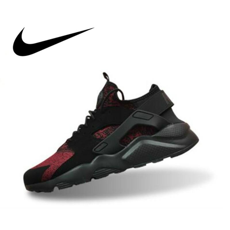 Sepatu Lari Original Authentic Nike Air Huarache Run Ultra Men's Running Shoes Breathable