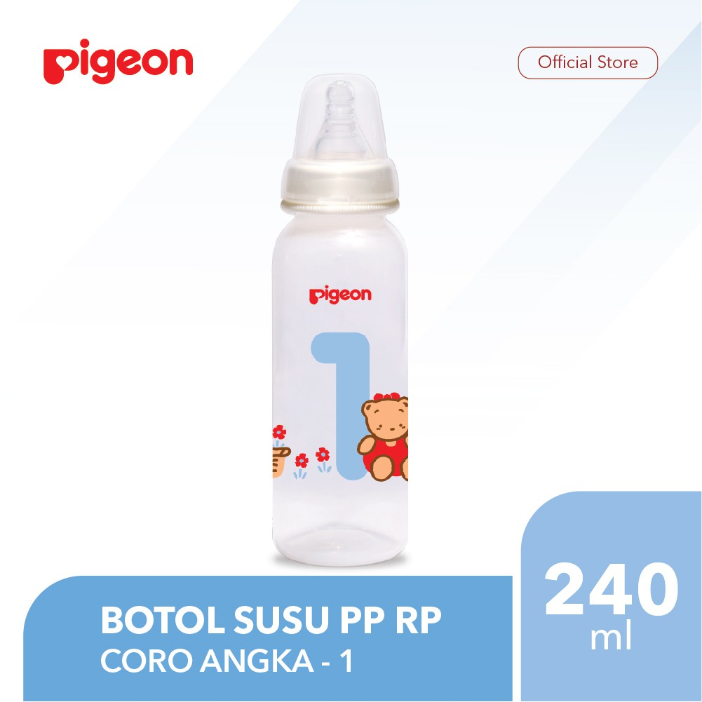 Pigeon Botol Susu Pp Rp 120ml Coro Angka 8 Shopee Indonesia Baby Bottle Karakter Peristaltic Nipple 50ml