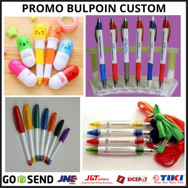 Promo Bolpoin Custom - Pulpen Custom Murah Cetak Pulpen ...