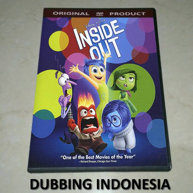 Dvd Inside Out 2015 Shopee Indonesia
