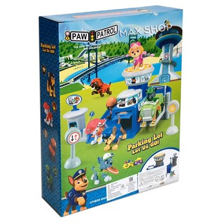 paw patrol city parking lot xz878n mainan edukasi anak kado ultah anak | shopee indonesia
