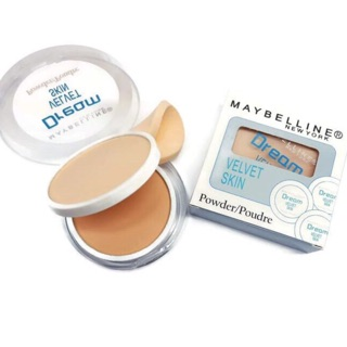 MAYBELLINE 2in1 POWDER BEDAK + FOUNDATION DREAM VELVET SKIN