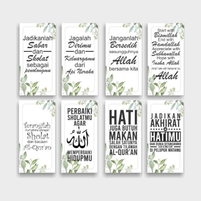 Hiasan Dinding Walldecor Dekorasi Kata Kata Mutiara Shopee Indonesia