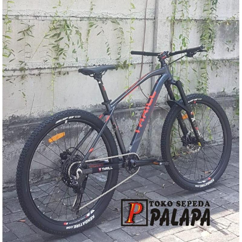 Mtb 27 5 Thrill Vanquish 1 0 New 2021 Sepeda Gunung 1 Shopee Indonesia